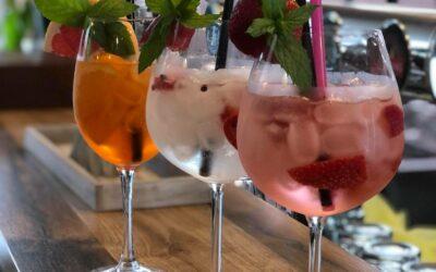 Nové drinky z ginů, výběrové rumy, destiláty z Blatné