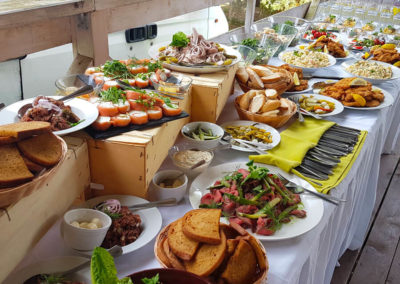 Catering od Restaurace Černá Perla Tábor